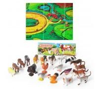 Набор Домашние животные M0256 20 штук