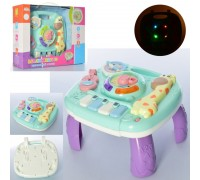 Логика игровой столик Малыш жираф 2 в 1 UKA-A0100
