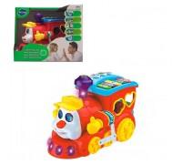 Развивающая игрушка Паровозик-Разумник LimoToy 556