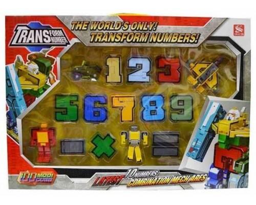 Игровой набор Цифры трансформеры 2808