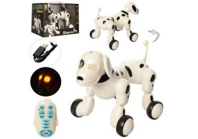 Собака робот интерактивная на радиоуправлении 619