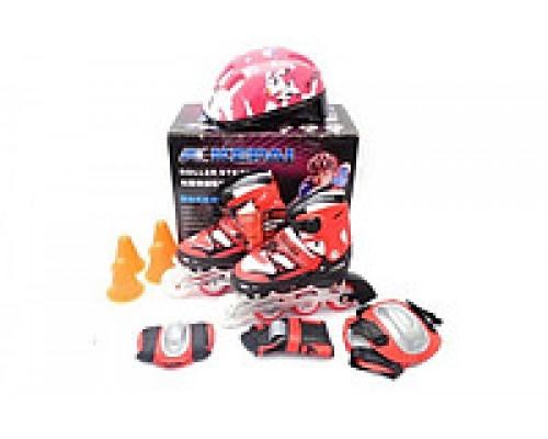 Комплект ролики шлем защита Kepai F1-K9 34-37