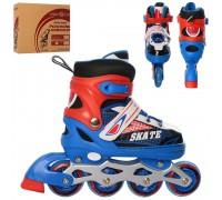 Ролики Profi Roller A4123-S-BL 31-34 синие