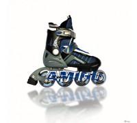 Ролики Amigo Sport Powerflex синие 34-37