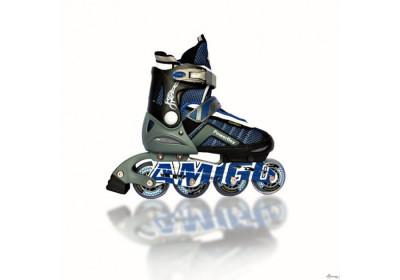 Ролики Amigo Sport Powerflex синие 38-41