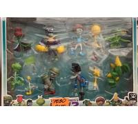Растения против зомби набор фигурок 8 штук