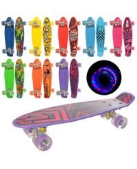 Скейт пенниборд Profi MS0749-1 8 цветов