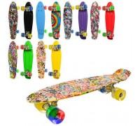 Скейт пенниборд ITrike MS0748-6 6 цветов