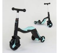 Самокат 3в1 Best Scooter самокат-велобег-велосипед JT-20255