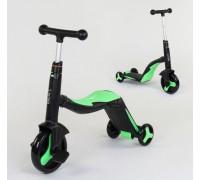 Самокат 3в1 Best Scooter самокат-велобег-велосипед JT-40405