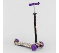 Самокат Best Scooter maxi 779-1326 фиолетовый