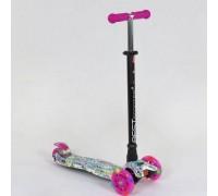 Самокат Best Scooter maxi 779-1333 розовый