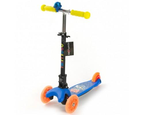 Самокат Explore Swift Scoo детский складной 4 цвета