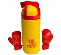 Боксерская груша с перчатками (большая) 50 см Full Contact