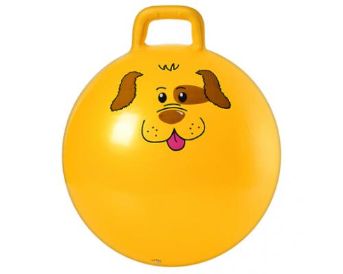 Мяч для фитнеса 55 см с ручкой MS 0486