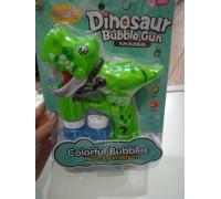 Пистолет мыльные пузыри Динозавр 607