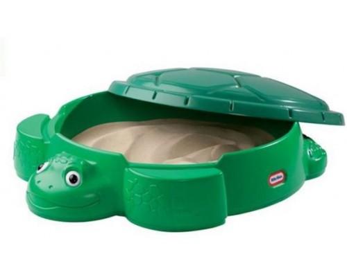 Песочница с крышкой Веселая черепаха 632884E3