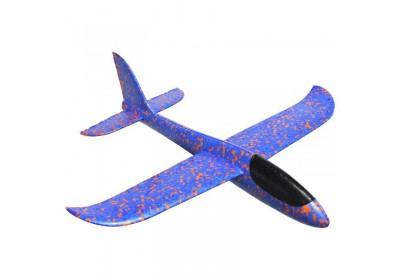 Самолет планер пенопластовый 5 цветов