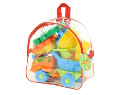 Песочный набор Polesie 4740 в рюкзаке №352