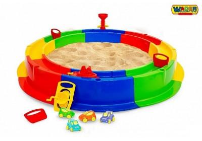 Песочница Кольцо с набором игрушек Polesie 40923