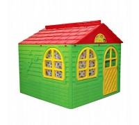 Детский игровой пластиковый домик Doloni 02550/3 со шторками