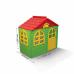 Домик игровой пластиковый Doloni 02550/13 со шторками 129*69*120 см