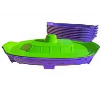 Песочница Кораблик салатово-фиолетовый Doloni 03355/1