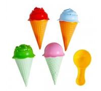 Набор для песочницы Мороженое Fancy ICE4
