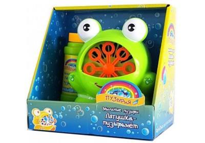 Набор игровой  с мыльными пузырями Dream Makers Bubbleland Лягушка P8818