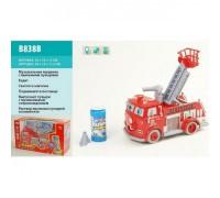 Набор игровой с мыльными пузырями Пожарная Машина B838B