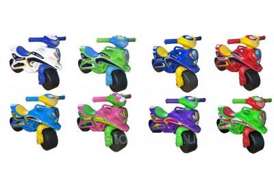 Мотоцикл музыкальный Doloni 0139 8 цветов