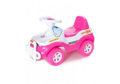 Каталка Джипик розовый Орион 105