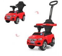 Машинка толокар Bambi M3503B(MP3)-3 красный