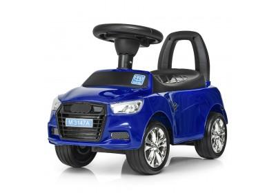 Детская машинка каталка толокар Bambi M3147A MP3-4 синий