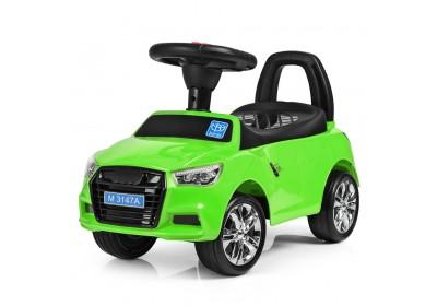 Детская машинка каталка толокар Bambi M3147A MP3-5 зеленый