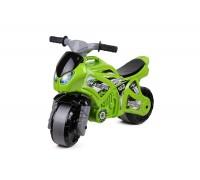 Мотоцикл толокар Технок 5859 зеленый
