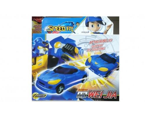 Трансформер автобот синий спорткар 2 в 1 3677A - 03