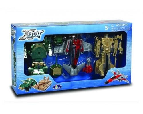 Игровой набор Роботы трансформеры X-bot 82040R