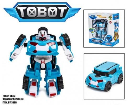 Трансформер Тобот мини DT-339-16 Tobot X голубой