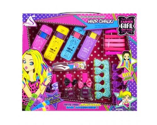 Набор косметики для девочки J506 мелки для волос