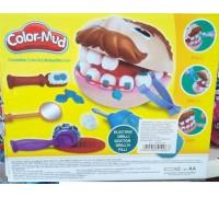 Набор доктор Зубастик Color-Mud 6611
