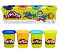 Набор для лепки 4 баночки Play-Doh B5517