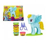 Набор пластилина Hasbro Play-Doh Стильный салон Рэйнбоу Дэш B0011