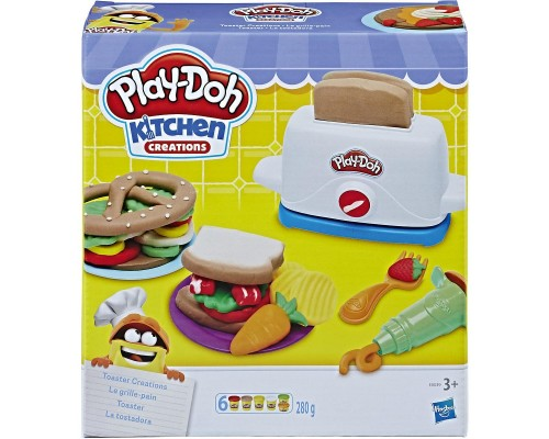 Игровой набор Play Doh Тостер E0039