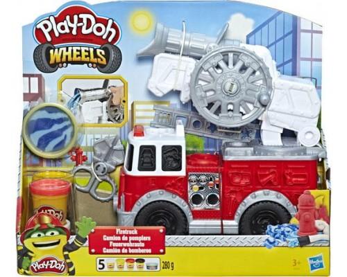 Игровой набор Hasbro Play-Doh Пожарная Машина E6103