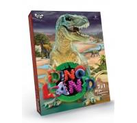Игровой набор для творчества Danko Toys Dino Land 7 в1 DL-01-01