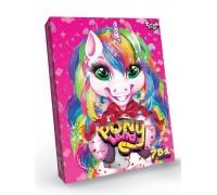 Игровой набор для творчества Danko Toys Pony Land 7 в 1 PL-01-01