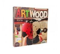 Набор для выпиливания Art Wood Часы Danko Toys LBZ-01-05