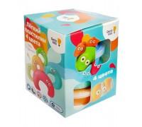 Воздушный пластилин для лепки Genio Kids TA1714 4 цвета