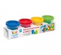 Набор для лепки Genio Kids Тесто-пластилин 4 цвета TA1010